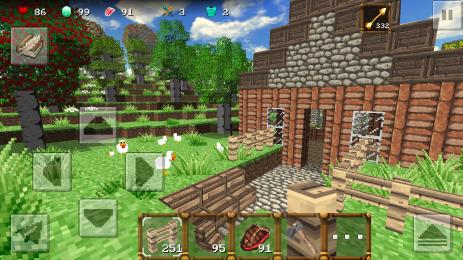 Скриншот MiniCraft 2