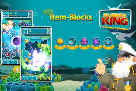 NumberKing : Treasure Hunter | Android