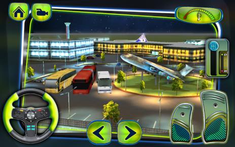Скриншот Airport Bus Driving Simulator