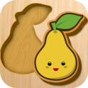 Baby wooden blocks - icon