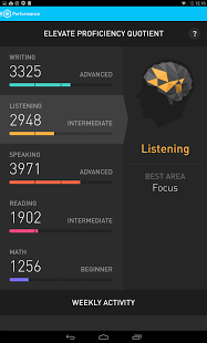 Скриншот Elevate – Brain Training