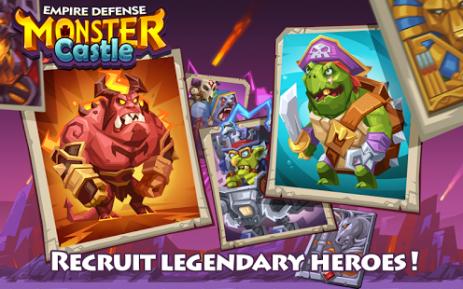 Скриншот Empire Defense:Monster Castle