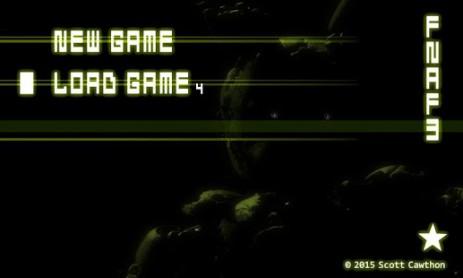 Скриншот Five Nights at Freddy's 3 Demo