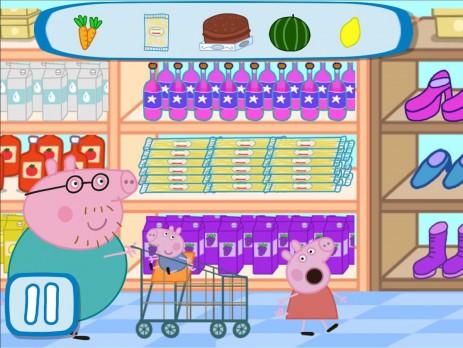 Скриншот Свинка Пеппа в супермаркете