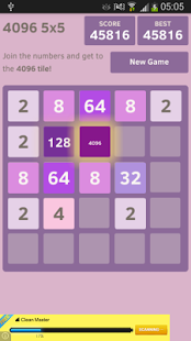 4096 (5x5) | Android