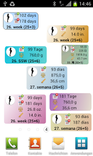 Скриншот Дневник беременности
