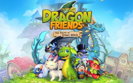 Драконы-друзья : Зеленая ведьма | Android