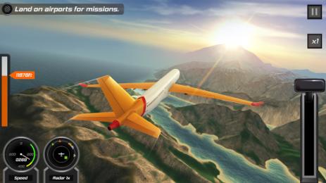 Скриншот Бесплатный 3D-авиасимулятор
