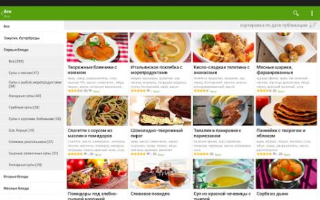Лучшие рецепты мира | Android