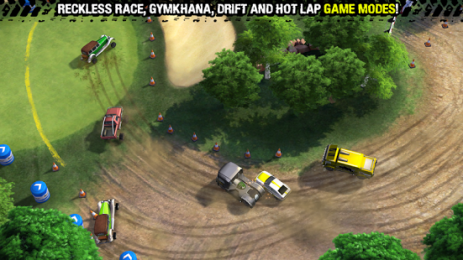 Скриншот Reckless Racing 3