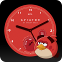 «Angry Birds Aviator Watch Face» на Андроид