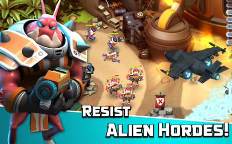 Alien Creeps TD | Android