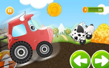 Скриншот Детская гоночная игра