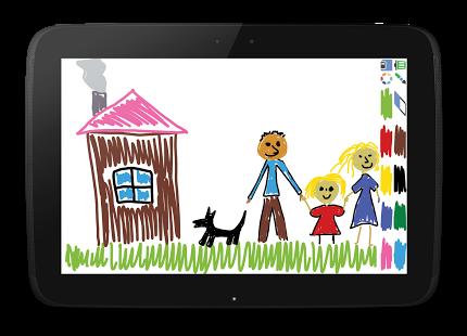 Скриншот Рисовалка для детей