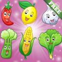 «Фрукты и овощи для детей» на Андроид