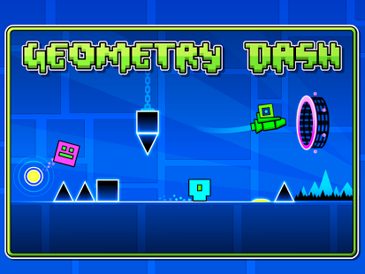 Screenshot z Geometry Dash Lite