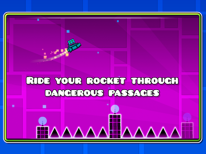 Скриншот Geometry Dash Lite