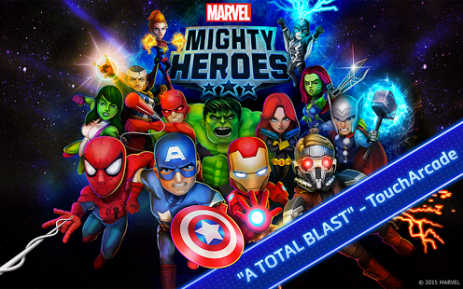 Poster Marvel Mighty Heroes