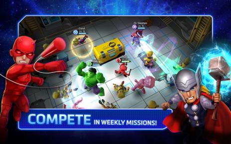 Скриншот Marvel Mighty Heroes