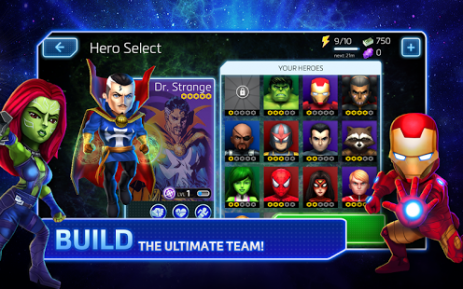 Скриншот Marvel Mighty Heroes