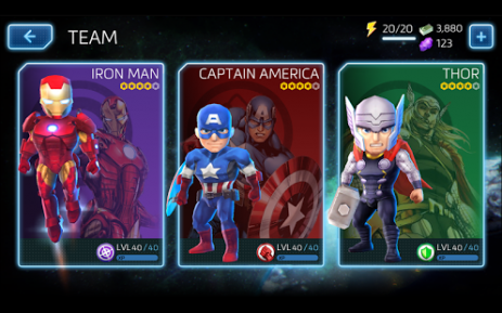 Marvel Mighty Heroes | Android