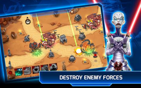 Скриншот Star Wars ™: Galactic Defense
