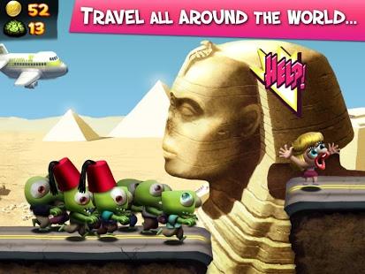 Скриншот Zombie Tsunami