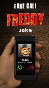 Fake Call Freddy Joke | Android