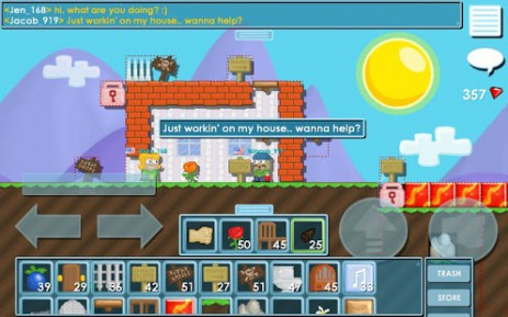 Скриншот Growtopia