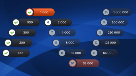 Скриншот Миллионер LUX