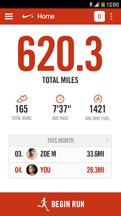 Nike+ Running | Android