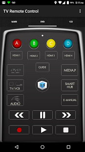 Скриншот Remote Control for TV