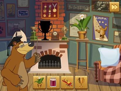 Скриншот Маша и Медведь: Силуэт