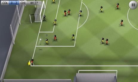 Скриншот Stickman Soccer