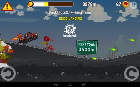 Скриншот Zombie Road Trip