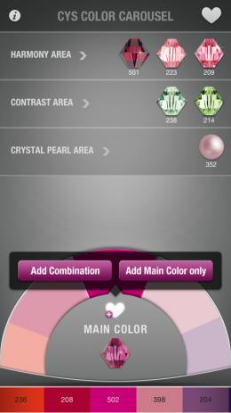 Скриншот COLOR CAROUSEL with  SWAROVSKI Elements