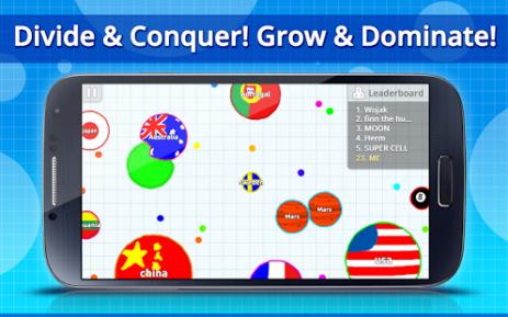 Скриншот Agar.io