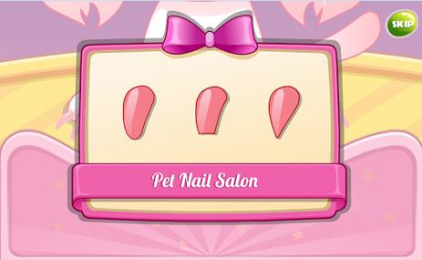 Скриншот Маникюрный салон для животных