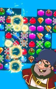 Скриншот Сокровища Пиратов - Три в Ряд