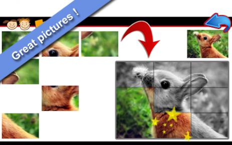 Скриншот Животные Пазлы для детей