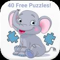 «Животные Пазлы для детей — » на Андроид