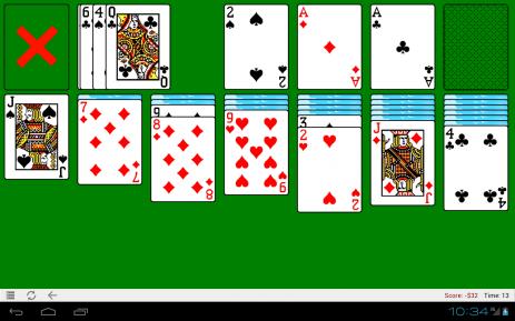Скриншот Klondike Solitaire