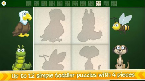 Скриншот Animal Puzzles for Toddlers