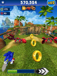 Скриншот Sonic Dash