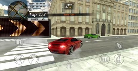 Скриншот 3D Street Racing