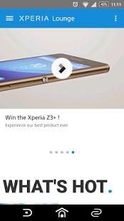 Скриншот Xperia Lounge