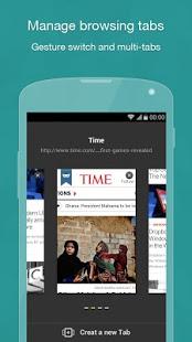 Скриншот Next браузер - Быстрый