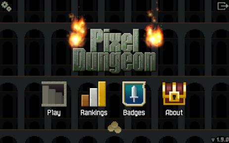 Скриншот Pixel Dungeon
