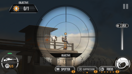 Скриншот SNIPER X WITH JASON STATHAM