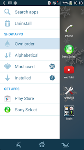 Xperia™ Winter Snow Theme | Android